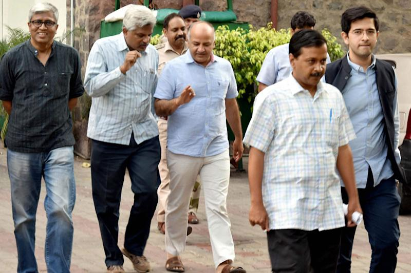 Aam Aadmi Party Live: Amid Infighting, PAC Meet Begins at Kejriwal's Residence