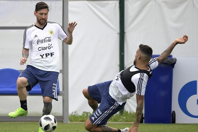 Argentina's star man Lionel Messi needs his supporting cast to step up against Croatia