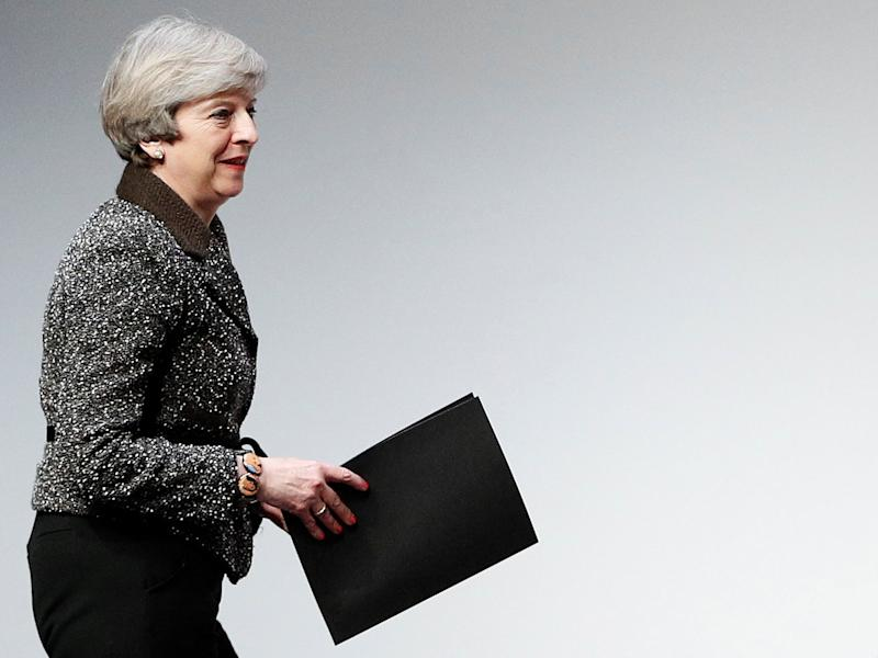 Theresa May declared that ' no deal is better than a bad deal': AFP