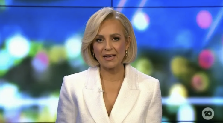 Carrie Bickmore on The Project