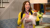 <p> When it first dropped in 2015, Kimmy Schmidt&#x2019;s theme song was all anyone could talk about. And yes, while it&#x2019;s a hummable-as-fudgin&#x2019;-heck, there&#x2019;s more to this eccentric comedy from 30 Rock creators Tina Fey and Robert Carlock. A zany sitcom with heart and silliness in equal amounts, the show begins with New York newbie Kimmy Schmidt starting with a fresh slate after spending the previous fifteen years trapped in a doomsday cult led by the deranged Reverend Gary Wayne Gary (an eerily-good Jon Hamm). Now in the big city, Kimmy discovers a new-found joy for living, that&#x2019;s got a distinct &#x2018;90s edge. </p> <p> It&apos;s as if 30 Rock never ended. But with added Carol Kane, who absolutely slays it as Kimmy&apos;s landlady, Jane Krakowski, who continues to be one of the funniest comics on the small screen, and the musical genius who gave us Peeno Noir and Boobs in California, Titus Andromedon. </p>