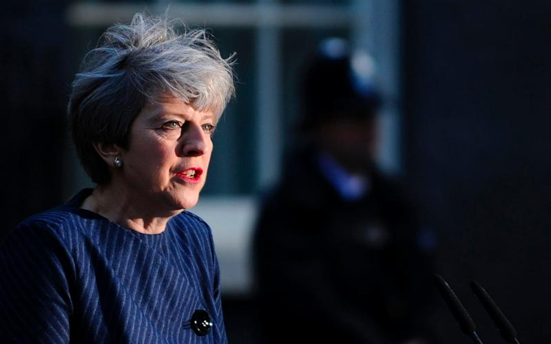 Theresa May is choosing to stand on competence - AFP