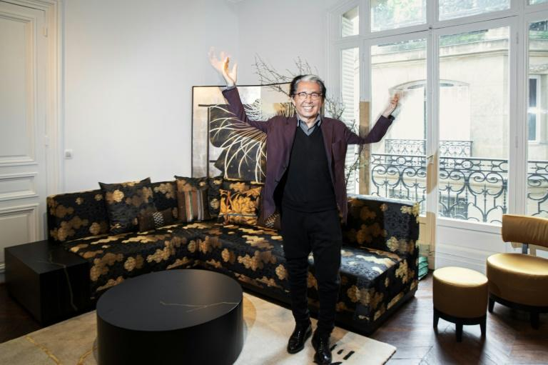 All life is a studio: Japanese fashion legend Kenzo Takada is moving into interior design