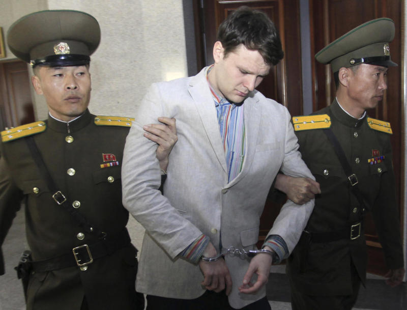 Student freed by North Korea in coma suffered 'severe neurological injury'