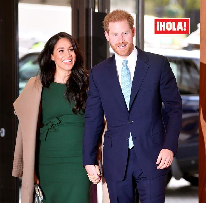 Los duques de Sussex, Meghan y Harry