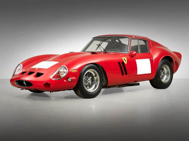1. 1962 Ferrari 250 GTO Berlinetta - $38.11 million (€28.52 million)