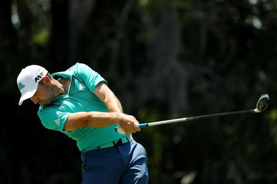 Sergio Garcia of Spain's only US tour triumph since the 2008 Players Championship was in 2012 at Greensboro (AFP Photo/Mike Ehrmann)