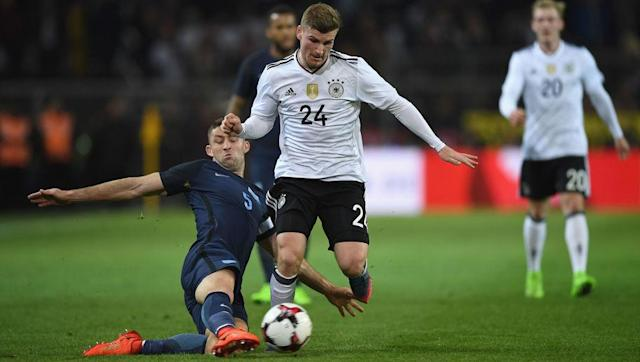 <p>England have often struggled with playing out from the back, yet in this system they looked comfortable. The tireless efforts from Kyle Walker and Ryan Bertrand meant that England seemed to have an extra man on the pitch. </p> <br><p>Germany looked stumped by England's set up for much of the game and it was also obvious to see where the system would benefit players that missed out on Wednesday. </p> <br><p>Raheem Sterling could work in the front three, whilst John Stones might benefit similar to how David Luiz has from being the central player in defence. </p>