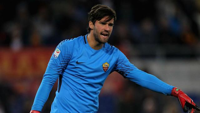 Reports of interest from Real Madrid have been welcomed by Roma goalkeeper Alisson.