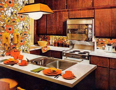 <p>Boundary-breaking design hit suburban and city kitchens alike, in the form of busy prints. </p>