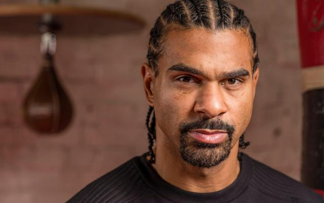 David Haye, picture taken at his gym in South London to illustrate a Guy Kelly interview - Andrew Crowley