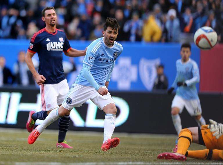 Spanish World Cup winner David Villa played for City Football Group's sides in New York and Melbourne (AFP Photo/ELSA)