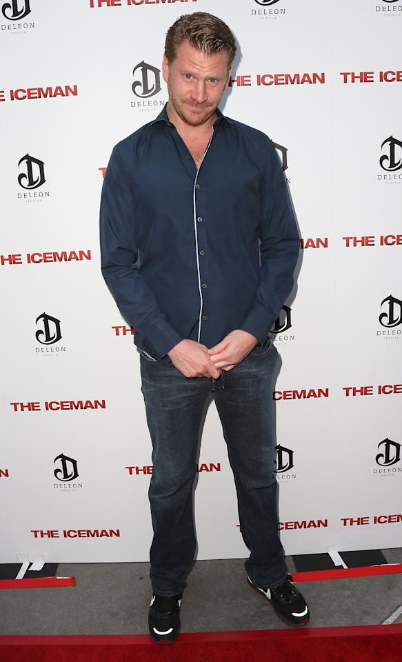 """HOLLYWOOD, CA - APRIL 22:  Actor Dash Mihok attends the Los Angeles special screening of Millennium Entertainment's """"The Iceman"""" at ArcLight Hollywood on April 22, 2013 in Hollywood, California.  (Photo by David Livingston/Getty Images)"""