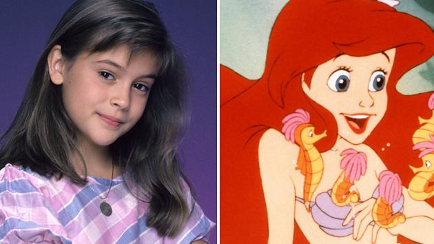 Alyssa Milano, 'The Little Mermaid'