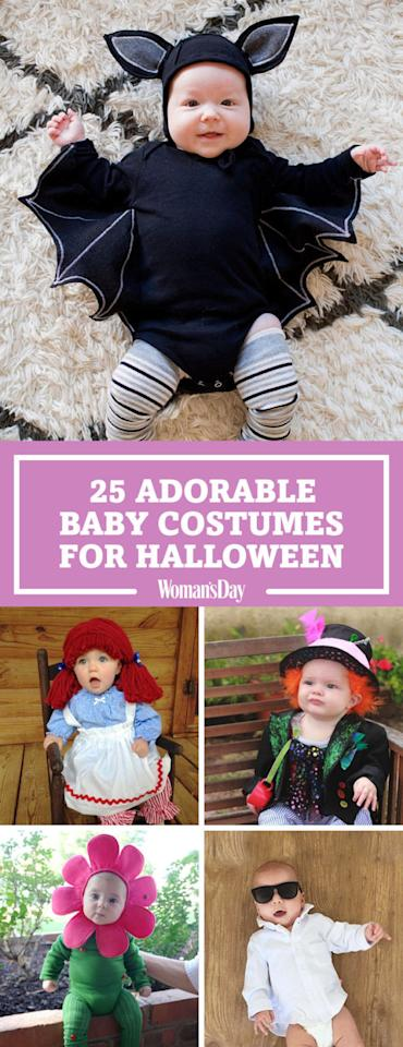 "<p>Save these ideas for later by pinning this image, and follow Woman's Day on <a rel=""nofollow"" href=""https://www.pinterest.com/womansday/"">Pinterest</a> for more cute Halloween ideas.</p>"