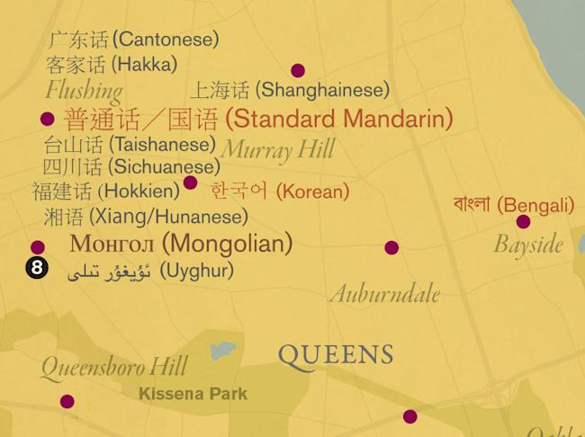 Solnits Subway Map Video.Queens Has More Languages Than Anywhere In The World Here S Where