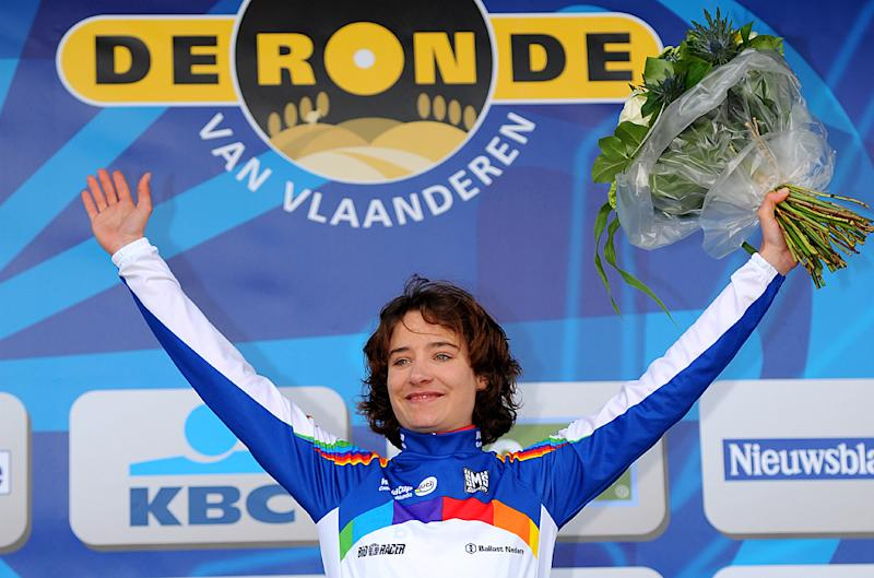 Marianne Vos leads UCI World Cup after placing second at Tour of Flanders