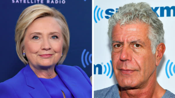 Anthony Bourdain Rips Hillary Clinton For 'Shameful' Response To Weinstein Scandal
