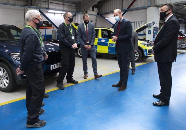 Royal visit to Warwickshire and West Midands