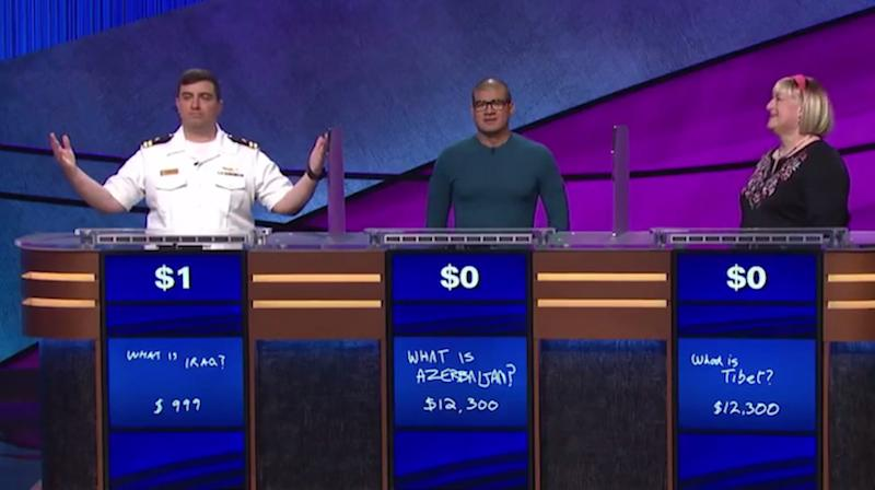 'Jeopardy!' Champion Wins With Just $1 In Jaw-Dropping Finale (UPDATE)