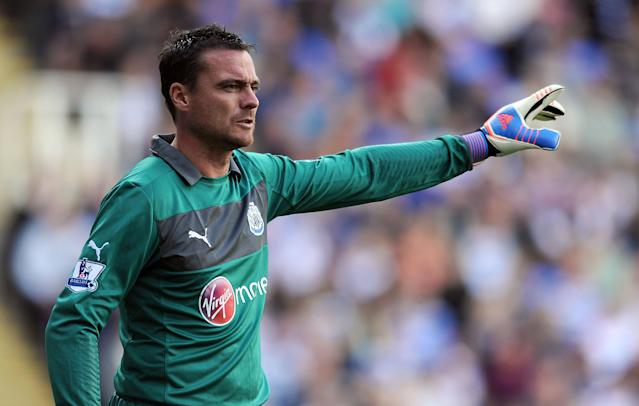 File photo dated 29/9/2012 of Newcastle United goalkeeper Steve Harper.