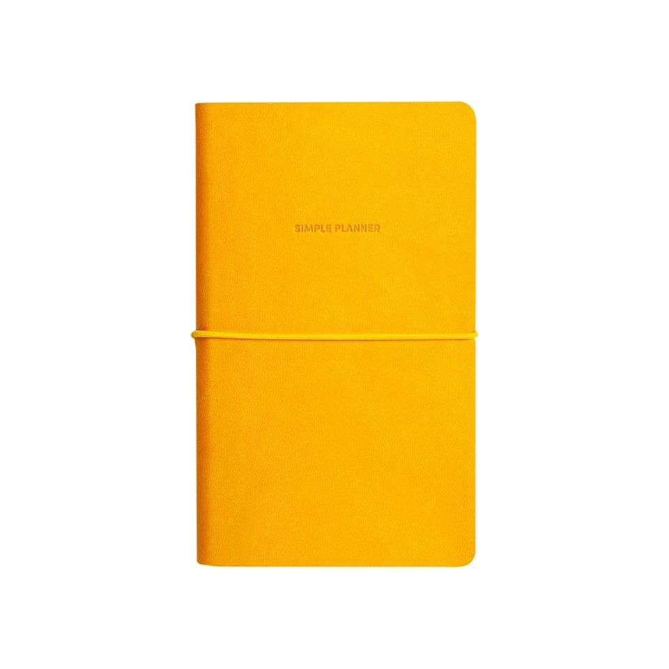"""<h3><a href=""""https://shop.design-milk.com/collections/notebooks-stationery/products/simple-planner-gold"""" rel=""""nofollow noopener"""" target=""""_blank"""" data-ylk=""""slk:Poketo Simple Planner"""" class=""""link rapid-noclick-resp"""">Poketo Simple Planner</a></h3><strong>Deal: 15% off first purchase with code NEWYEAR</strong><br><br>This simple and sleek planner includes yearly, monthly, and weekly open-dated layouts. <br><br><strong>Poketo</strong> Simple Planner, $, available at <a href=""""https://go.skimresources.com/?id=30283X879131&url=https%3A%2F%2Fshop.design-milk.com%2Fcollections%2Fnotebooks-stationery%2Fproducts%2Fsimple-planner-gold"""" rel=""""nofollow noopener"""" target=""""_blank"""" data-ylk=""""slk:design milk"""" class=""""link rapid-noclick-resp"""">design milk</a>"""