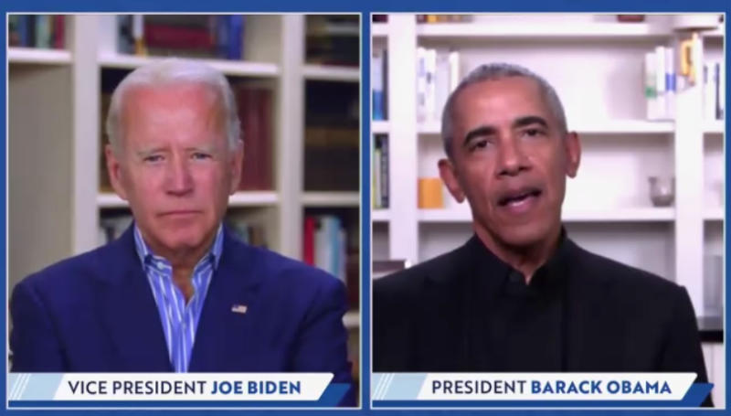 'Shambolic,' 'mean spirited': Obama, in first 2020 event with Biden, rips Trump
