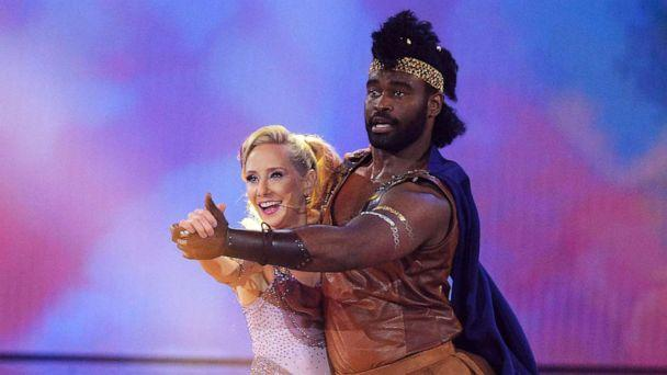 PHOTO: Anne Heche and Keo Motsepe perform on ABC's, 'Dancing with the Stars,' Sept. 28, 2020. (Eric Mccandless/ABC)