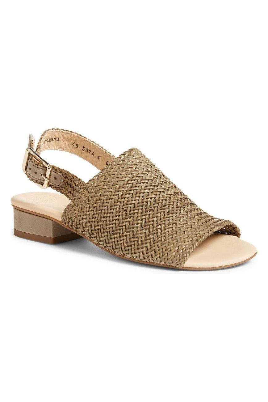 """<p><strong>Paul Green</strong></p><p>nordstrom.com</p><p><strong>$339.00</strong></p><p><a href=""""https://go.redirectingat.com?id=74968X1596630&url=https%3A%2F%2Fwww.nordstrom.com%2Fs%2Fpaul-green-helena-woven-leather-block-heel-sandal-women%2F5815234&sref=https%3A%2F%2Fwww.marieclaire.com%2Ffashion%2Fg27205502%2Fcomfortable-walking-sandals-women%2F"""" rel=""""nofollow noopener"""" target=""""_blank"""" data-ylk=""""slk:SHOP IT"""" class=""""link rapid-noclick-resp"""">SHOP IT</a></p><p>The lightweight woven upper on this sandal by Paul Green adds some seriously beachy texture to an otherwise neutral shoe. It also has a cushioned insole, so say goodbye to rubbing and soreness! </p>"""