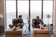 """<p>If a spa with a view is on your wish list, Low Wood Bay's sweeping Lake Windermere vista blending into dramatic fells in the distance should tick that box nicely.</p><p>The staggering views from the indoor and outdoor pool are a real highlight here, but there's also wood-fired food in the Blue Smoke restaurant and afternoon tea in the Langdale Lounge serving up soul-stirring scenery with your scones. And, of course, there's country walks aplenty right on the doorstep.</p><p><strong>Covid-19 update</strong>: All spa guests are asked to complete a health questionnaire before using the facilities.</p><p><a href=""""https://www.redescapes.com/offers/lake-district-windermere-low-wood-bay-hotel-spa"""" rel=""""nofollow noopener"""" target=""""_blank"""" data-ylk=""""slk:Read our review of Low Wood Bay."""" class=""""link rapid-noclick-resp"""">Read our review of Low Wood Bay.</a></p><p><a class=""""link rapid-noclick-resp"""" href=""""https://go.redirectingat.com?id=127X1599956&url=https%3A%2F%2Fwww.booking.com%2Fhotel%2Fgb%2Flow-wood.en-gb.html%3Faid%3D2070929%26label%3Dluxury-spa-hotels-uk&sref=https%3A%2F%2Fwww.redonline.co.uk%2Ftravel%2Finspiration%2Fg34573730%2Fluxury-spa-hotels-uk%2F"""" rel=""""nofollow noopener"""" target=""""_blank"""" data-ylk=""""slk:CHECK AVAILABILITY"""">CHECK AVAILABILITY</a></p>"""