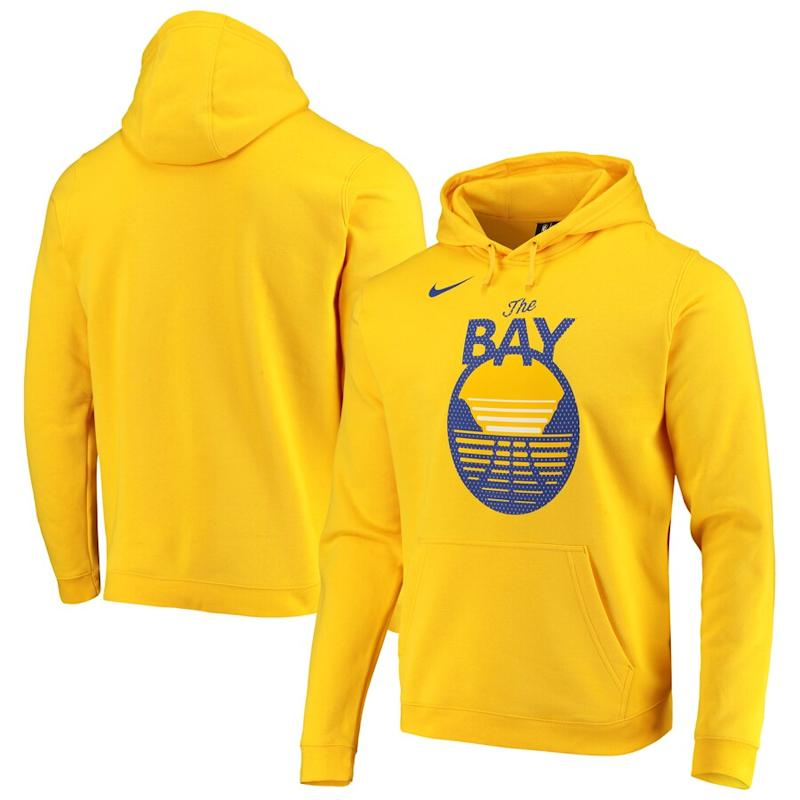 Warriors Nike 2019/20 Statement Edition Pullover Hoodie