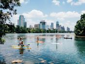 "<p>Austin is a popular travel destination for young professionals and students, mostly because of its thriving nightlife, weekend events, and some of the best BBQ in the country. <a href=""http://lousbodega.com"" class=""link rapid-noclick-resp"" rel=""nofollow noopener"" target=""_blank"" data-ylk=""slk:Lou's Bodega"">Lou's Bodega</a>, a new East Side destination in Austin, just opened and is worth checking out. In true corner store fashion, Lou's sells coffee, pastries, and more, as well as a cheerful all-day menu of comforting rotisserie fare to stay or go.</p>"