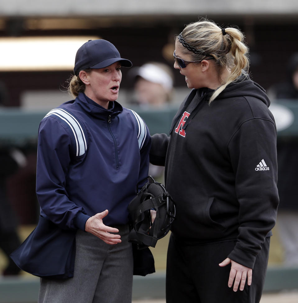 Several former Rutgers players have accused coach Kristen Butler of physically and emotionally abusing them, causing the athletic director to lash out at a reporter.