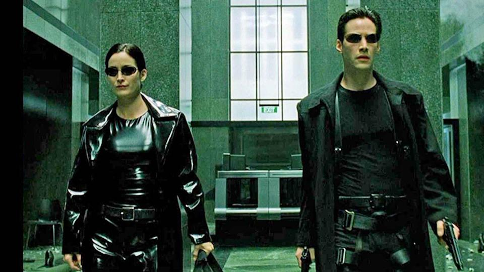 <p>The Keanu Reeves and Carrie-Anne Moss-led action franchise about glitches in the simulation will seemingly take on an eerily reminiscent meaning when <em>The Matrix</em> reboot lands in our simulation April 2022. </p>