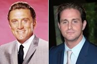 "<p>Born Issur Danielovitch, <a href=""https://people.com/movies/kirk-douglas-family-photos/"" rel=""nofollow noopener"" target=""_blank"" data-ylk=""slk:Kirk Douglas"" class=""link rapid-noclick-resp"">Kirk Douglas</a> was a superstar actor, producer, director and philanthropist. He passed on his acting legacy to son <a href=""https://people.com/tag/michael-douglas/"" rel=""nofollow noopener"" target=""_blank"" data-ylk=""slk:Michael Douglas"" class=""link rapid-noclick-resp"">Michael Douglas</a>, who's married to actress <a href=""https://people.com/tag/catherine-zeta-jones/"" rel=""nofollow noopener"" target=""_blank"" data-ylk=""slk:Catherine Zeta-Jones"" class=""link rapid-noclick-resp"">Catherine Zeta-Jones</a>, and grandson Cameron.</p> <p>In 2003, the Douglas men got to act alongside each other in the comedy-drama <em>It Runs in the Family</em>. </p>"