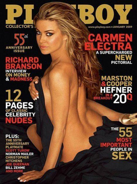 <p><strong>Issue: </strong>January 2009</p><p>Carmen Electra's bedroom eyes took centerstage in her 2009 cover. </p>
