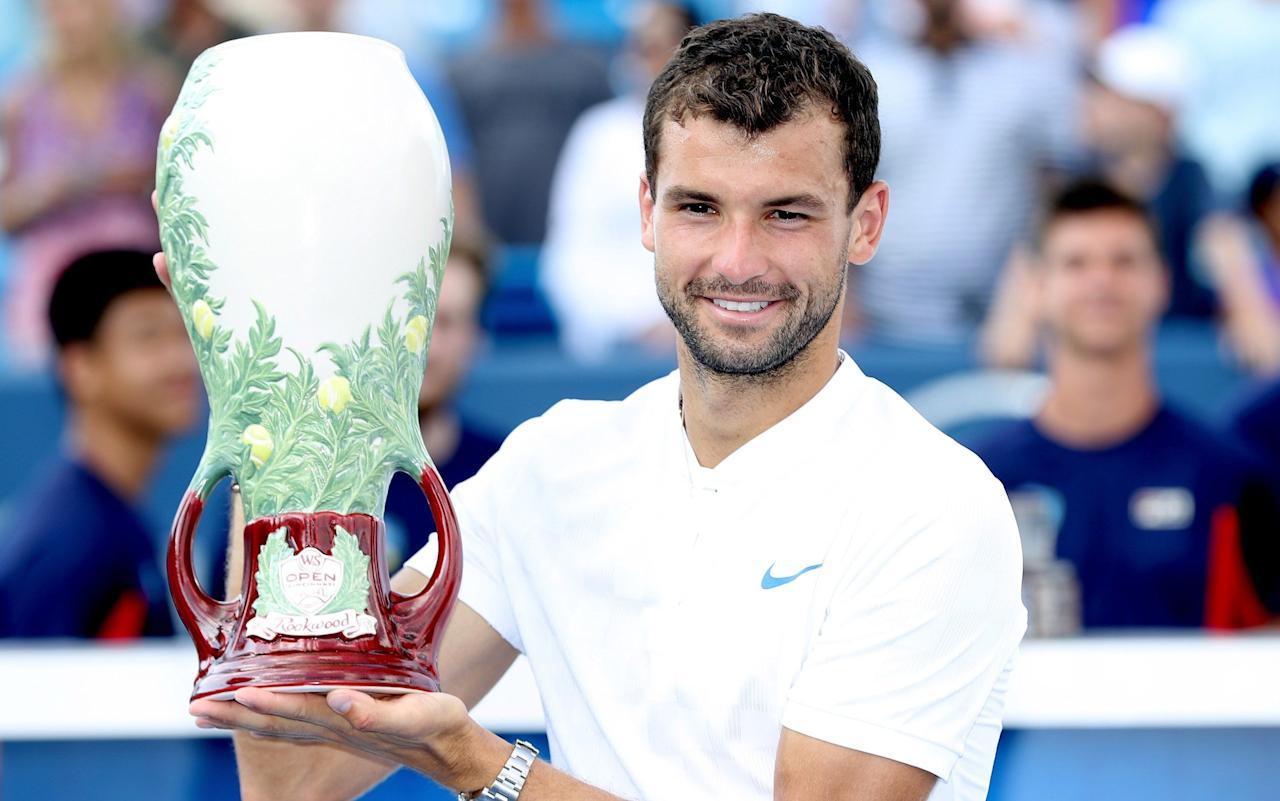 Grigor Dimitrov has made a career out of promising much but failing to deliver, while Garbine Muguruza follows grand slam breakthroughs with slumps. Until now. This week's Tennis Podcast discusses their impressive victories in Cincinnati and wonders whether they could be the forerunners to even bigger wins at the US Open, which starts next week. With Novak Djokovic, Stan Wawrinka and Kei Nishikori all out injured, and question marks over the fitness of Roger Federer and Andy Murray, is this Dimitrov's time to shine? Could the man he beat in the final - Nick Kyrgios - make a run of his own? And wasn't he supposed to be injured? Is Muguruza now a clear favourite for the women's title? And what happened to Simona Halep in the final when she was just one match away from reaching world No.1?  The podcast team also discuss the return of Rafael Nadal to World No.1, the US Open wild card given to Maria Sharapova, the likelihood of Murray featuring in New York, and the sad case of Melanie Oudin. The Tennis Podcast is a downloadable tennis radio show, available on all platforms, including iPhones, iPads and Android phones and tablets. Presented by broadcasters Catherine Whitaker (Eurosport, BBC 5 Live) and David Law (BBC 5 Live, BT Sport), it is produced weekly throughout the year, and daily at the Grand Slam tournaments, in association with Telegraph Sport and Eurosport.    HOW TO LISTEN TO THE TENNIS PODCAST Acast - https://ec.yimg.com/ec?url=http%3a%2f%2fpo.st%2fTP339&t=1503431992&sig=w1b54t4d3iMNRR5vZDUxSA--~D iTunes - http://po.st/TP339Apple Download - http://po.st/TP339Download Android - rss.acast.com/thetennispodcast (paste it in to a podcast app like Pocket Casts)
