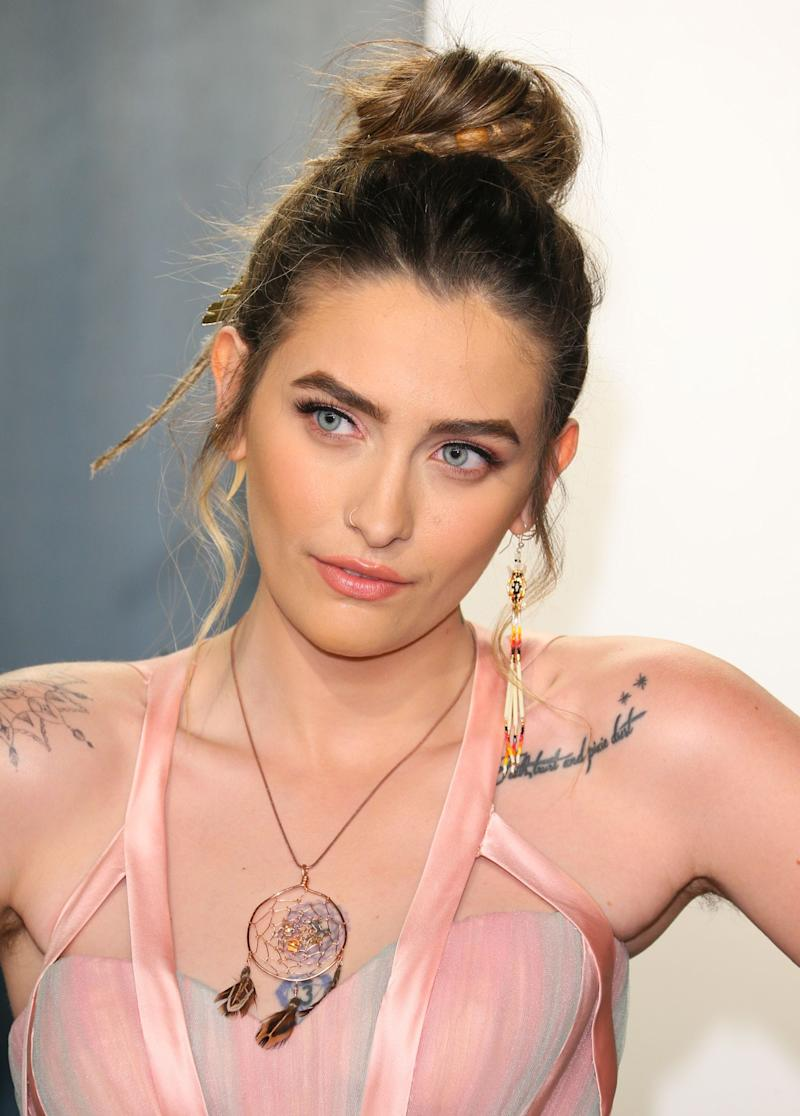 """Paris Jackson portrays Jesus in the upcoming film """"Habit."""" Some people are not happy about the idea."""