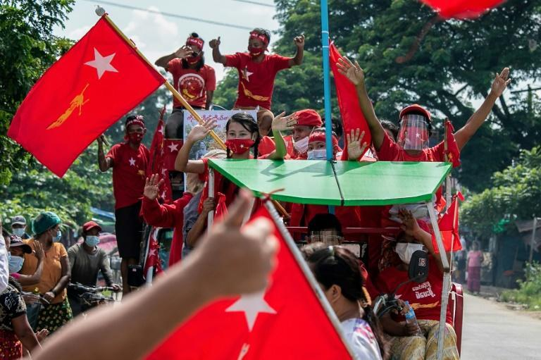 The National League for Democracy (NLD) is widely expected to win next week's election -- five years after it swept to power in a landslide victory
