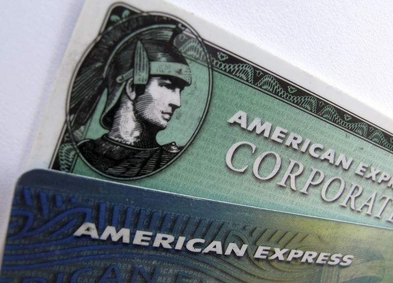 American Express and American Express corporate cards are pictured in Encinitas