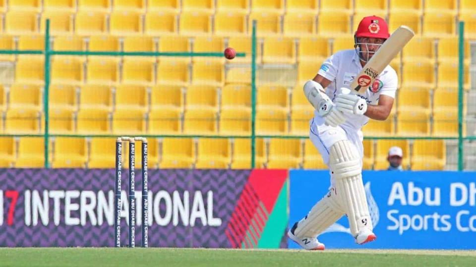 Hashmatullah Shahidi becomes first Afghanistan player to hit Test double-hundred