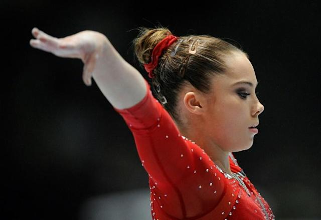 McKayla Maroney has filed suit over a confidentiality agreement. (AP)