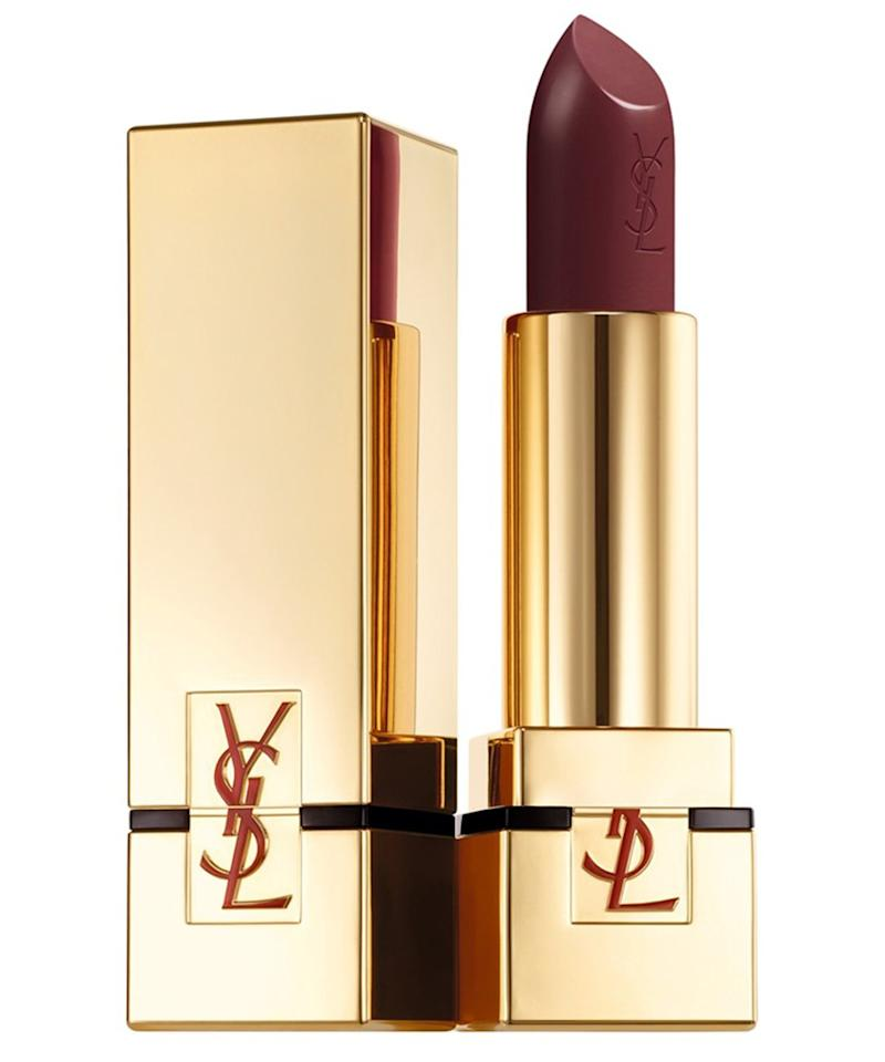 """<p>Never have your favorite hue stolen by your sister ever again. Since complimentary engraving is available for YSL's beyond-luxe lipsticks, she'll never have an excuse for running off with a tube of your signature.</p> <p>$36 