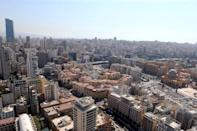 FILE PHOTO: A general view of Beirut central district