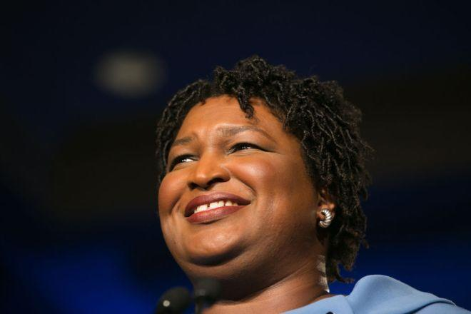 Georgia Democratic Gubernatorial Candidate Stacey Abrams Holds Election Night Event In Atlanta