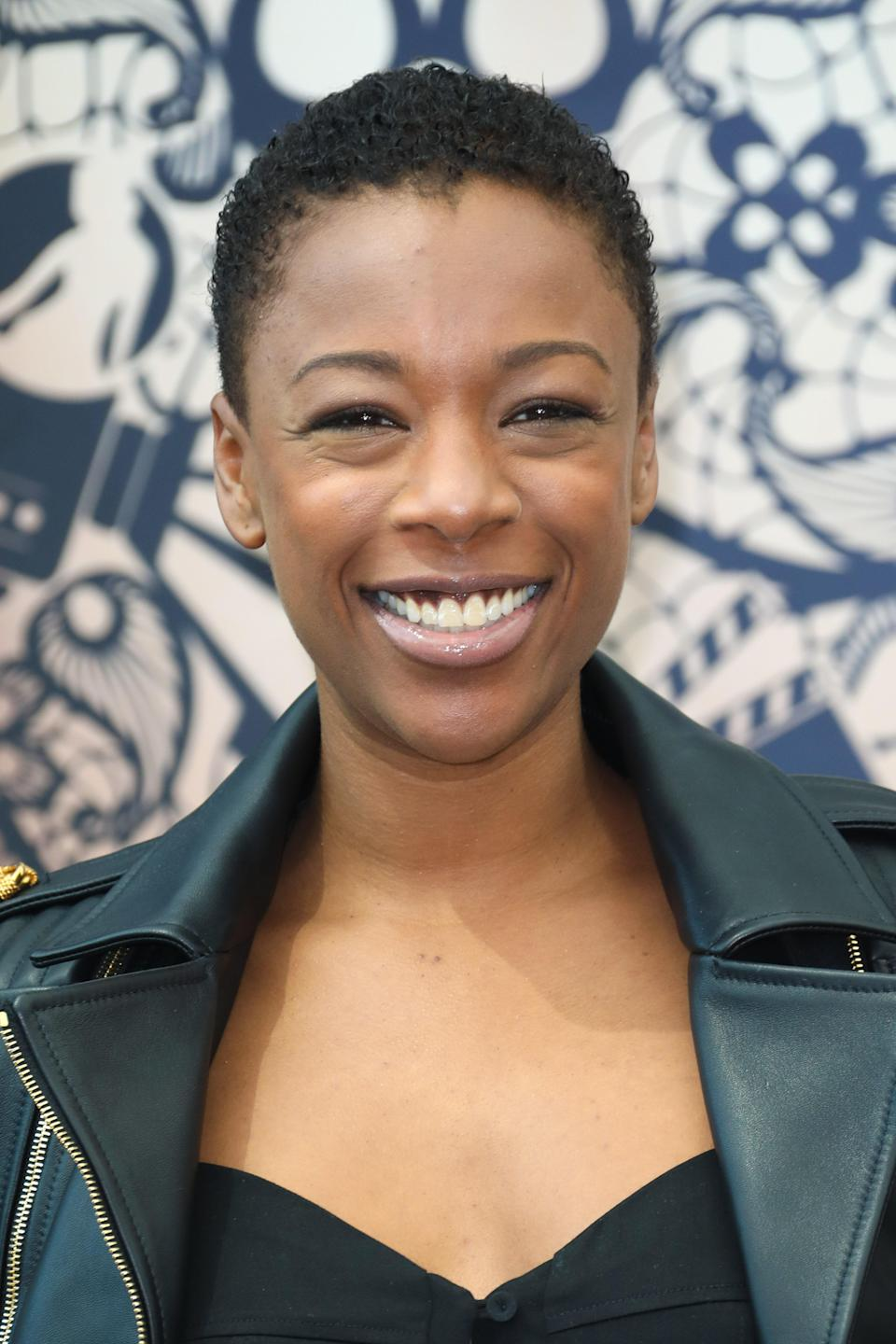 """While the Big Chop is hardly a """"trend,"""" 2020 has been a particularly big year for women transitioning from relaxed to natural hair. """"The big chop is definitely a cut that isn't going away anytime soon,"""" says Jamila Powell, owner of Miami's <a href=""""https://www.maggierosesalon.com/english"""" rel=""""nofollow noopener"""" target=""""_blank"""" data-ylk=""""slk:Maggie Rose Salon"""" class=""""link rapid-noclick-resp"""">Maggie Rose Salon</a>. """"This short cropped look frames your face and is low maintenance."""" Start fresh with a cropped cut—or even a <a href=""""https://www.glamour.com/gallery/women-say-what-its-like-to-shave-your-head?mbid=synd_yahoo_rss"""" rel=""""nofollow noopener"""" target=""""_blank"""" data-ylk=""""slk:buzz cut"""" class=""""link rapid-noclick-resp"""">buzz cut</a>—so your curls grow in with all their natural glory."""