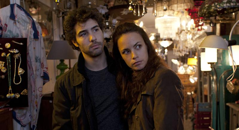 "This image released by Sony Pictures Classics shows Tahar Rahim as Samir, left, and Bérénice Bejo as Marie in a scene from ""The Past."" (AP Photo/Sony Pictures Classics, Carole Bethuel)"