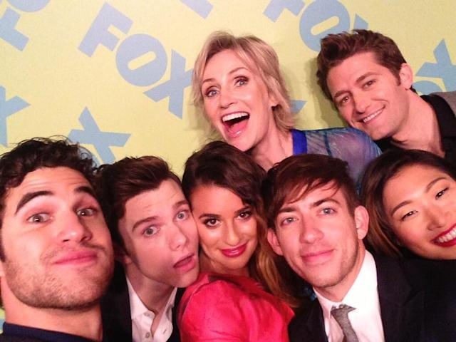 Glee fam! #FoxUpfronts2013
