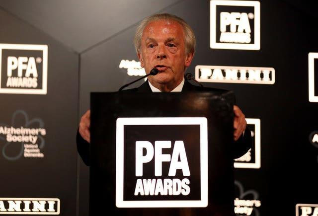 PFA chief executive Gordon Taylor is among those to have signed the letter