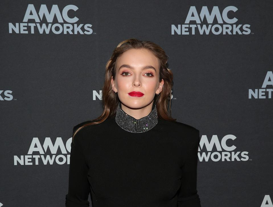 PASADENA, CA – FEBRUARY 09: Actor Jodie Comer attends the 'Killing Eve' panel during the BBC America/AMC portion of the 2019 Winter TCA on February 9, 2019 in Pasadena, California. (Photo by Jesse Grant/Getty Images for AMC Networks )